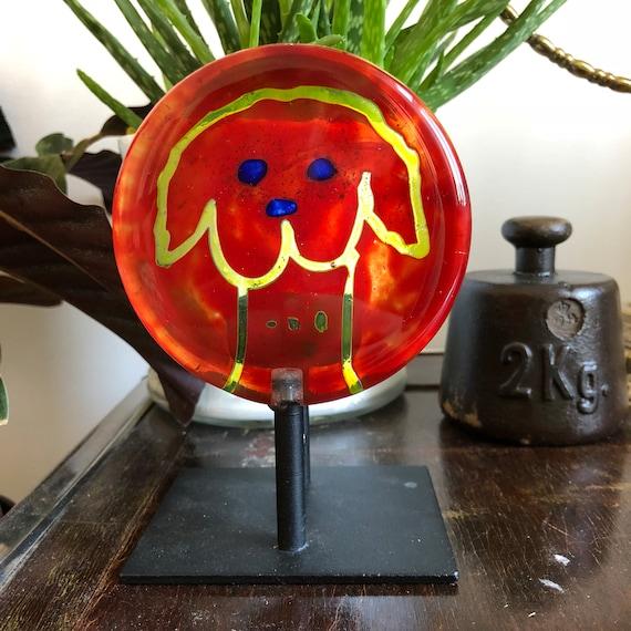 Steninge Slott Lindshammar art glass candle holder votive designed by sofia wilberg / Art Glass Votive Candle Holder