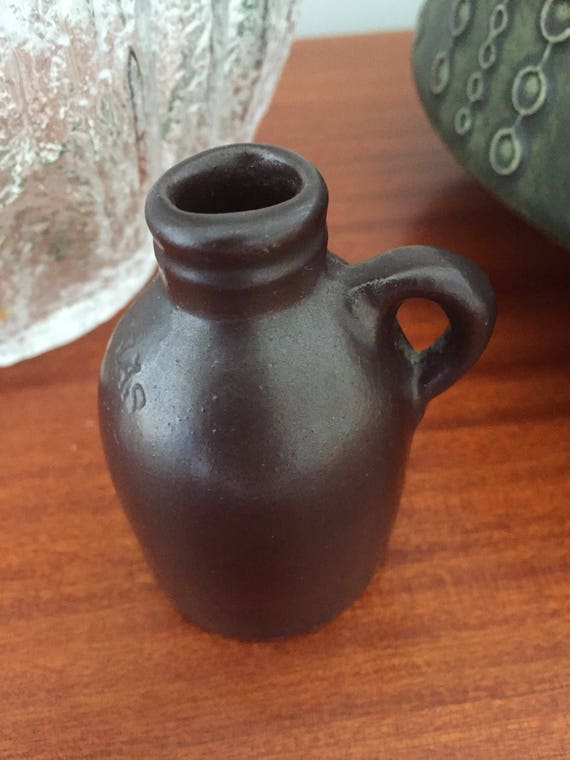 Miniature/Hoganas/Höganäs/jug/ceramic/brown