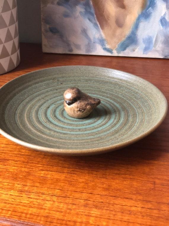 Stengods pottery Sweden by Katarina Gustafsson Sireköpinge plate