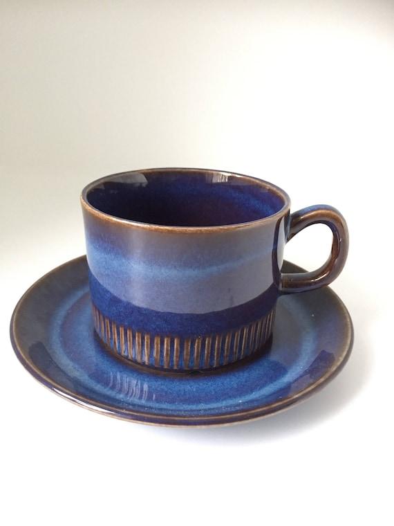 Coffee cups Scandinavian Kosmos Upsala Ekeby Gefle Porslinsfabrik Berit Ternell Sweden