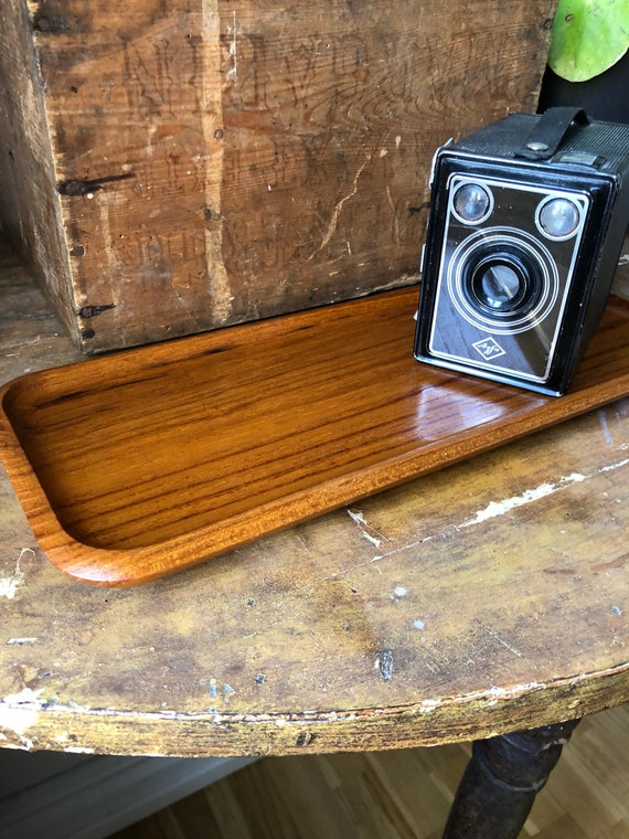 Swedish Karl Holmberg AB / Midcentury Modern teak serving tray / Scandinavian Design new bohemians modern
