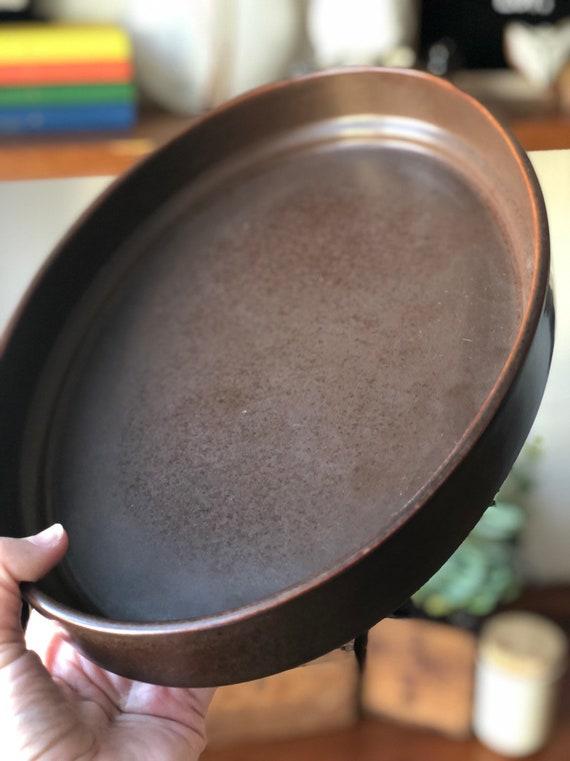 Gustavsberg Bruno series serving baking dish casserole designed in 1960s