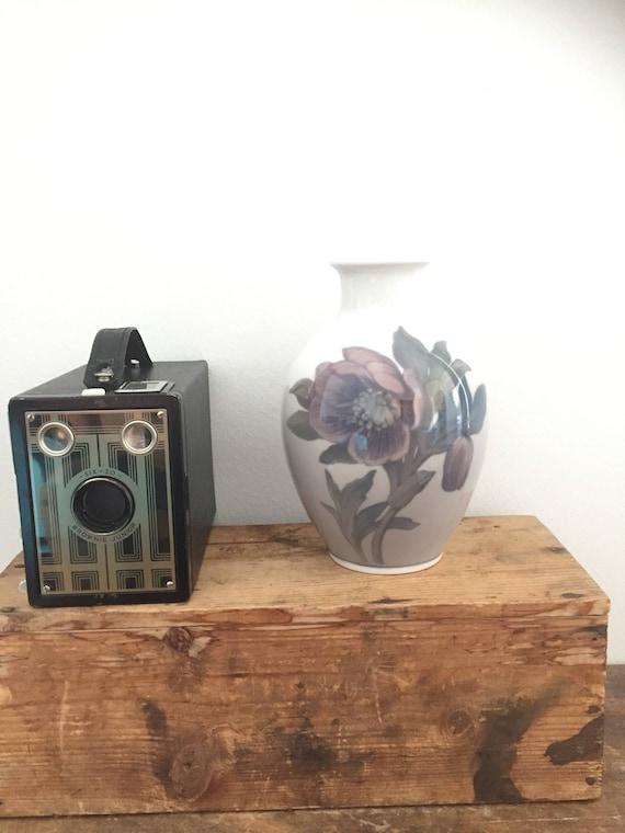 Victorian /Royal Copenhagen/flower/art nouveau/vase/mark 129