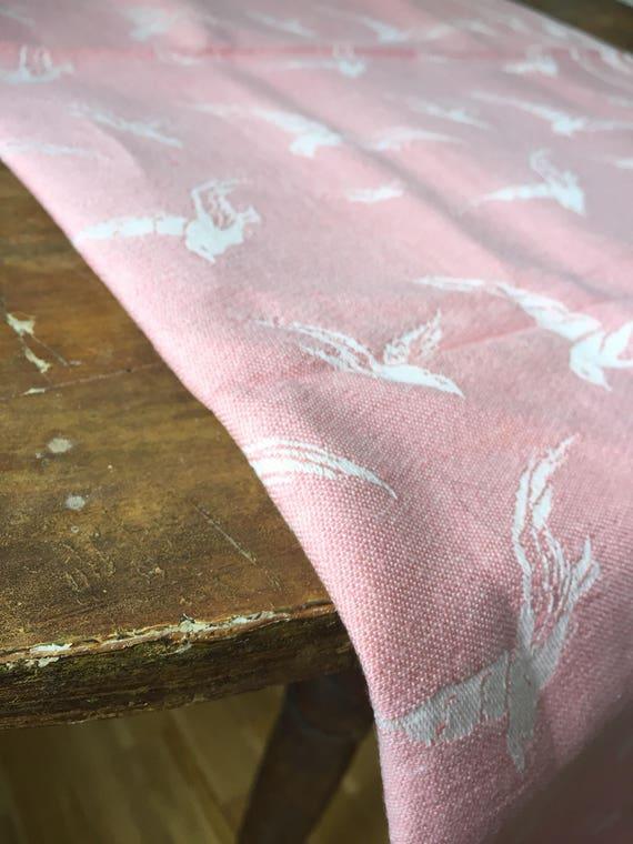 Tablecloth Vintage Peter Condu Klässbols Linen Weaving Mill Sweden rectangle Scandinavian damask tablecloth natural fibers hygge