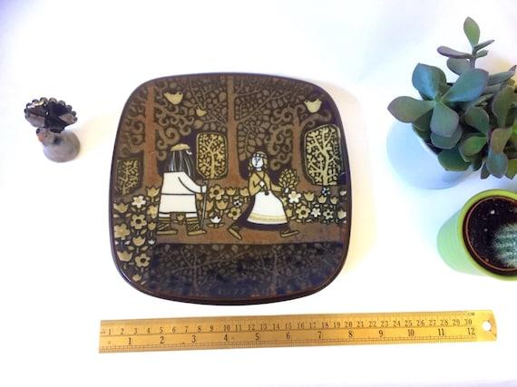 Rare/Arabia collectable plate/1977/Raija Uosikkinen