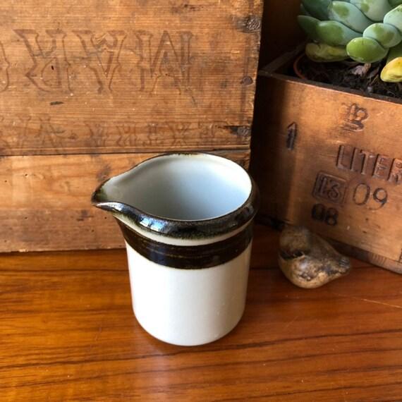 Arabia vintage karelia earless creamer cream milk cup  1970s Scandinavian design minimalist