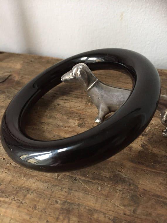 Bakelite/60s/bangle/Scandinavian/design/vintage/scandinavian modern/pipe/bracelet