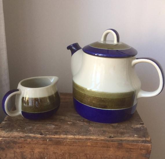 Swedish/teapot/creamer /Marianne Westermann /rörstrand/Elisabeth /1960s /Sweden