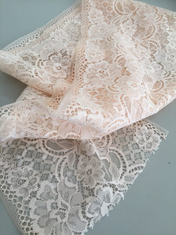 lace/trim/blush/peach/material