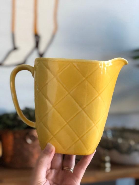 Vintage lidabruk Rörstrand vase picture milk jug Sweden midmod midcentury modern Duka med A&J