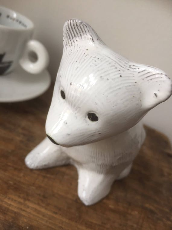 Upsala Ekeby polar bear Mari Simmulson björn UE bear figurine