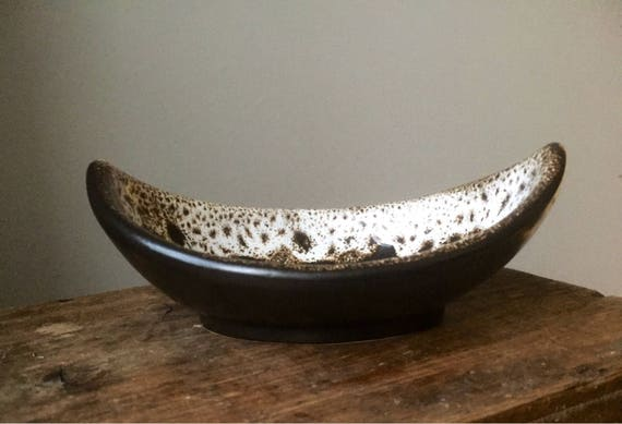DÜMLER and BREIDEN/bowl/1970s/midcentury modern/fat lava/West Germany