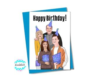 The Sopranos Family Birthday Card