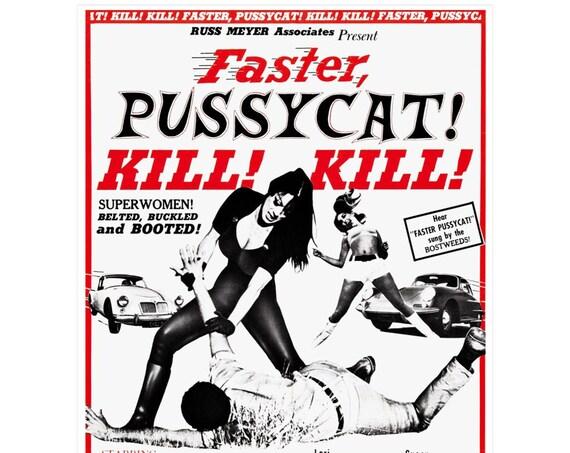 Faster, Pussycat! Kill! Kill! 12 X 16 Inch Movie Posters