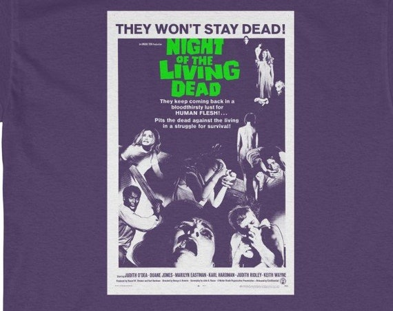 Night Of The Living Dead Heavy Cotton Tee