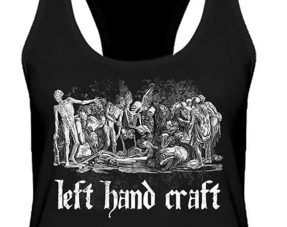 The Skeletons / Left Hand Craft - Women's Racerback Tank