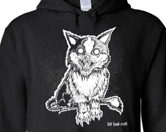 Demonicat pullover hoodie
