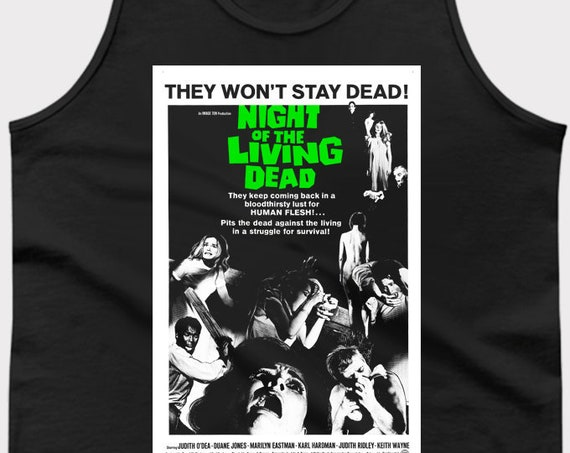 Night of the Living Dead - Classic Horror Movie Tank Top
