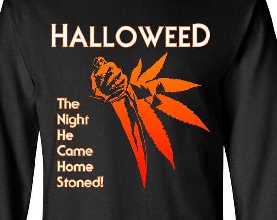 Halloweed stoner horror - Long Sleeve Shirt
