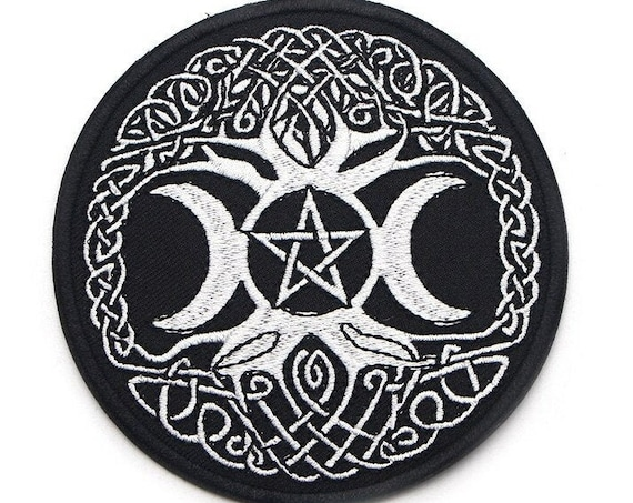 Triple Moon Goddess Patch