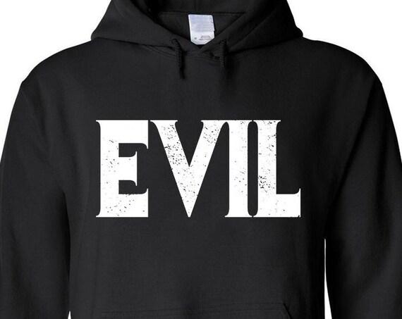 EVIL pullover hoodie