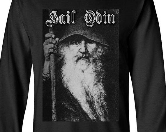 Hail Odin - Long Sleeve Shirt