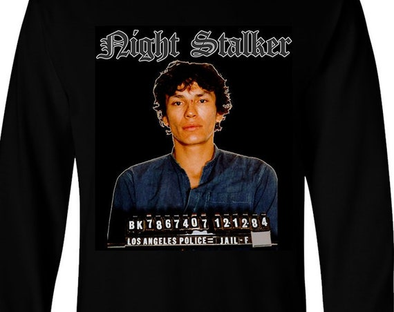 Night Stalker Ramirez - Satanic Long Sleeve Shirt