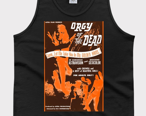 Orgy of the Dead - Classic Horror Movie Tank Top