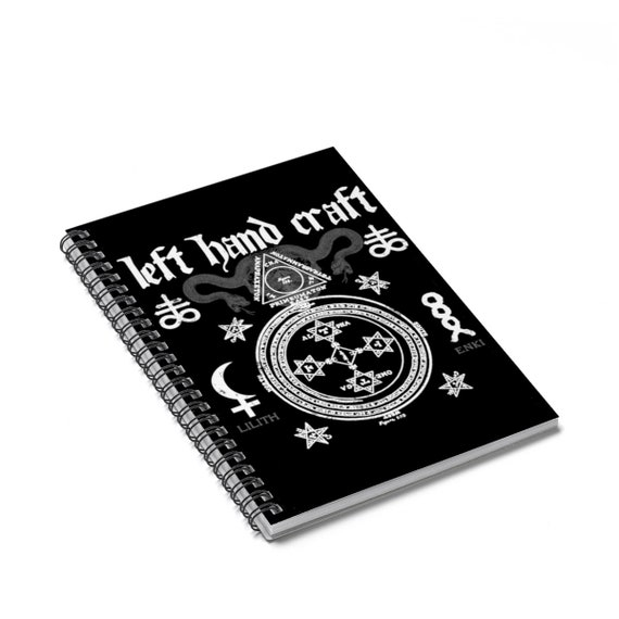 Satanic Spiral Notebook  Ruled Line