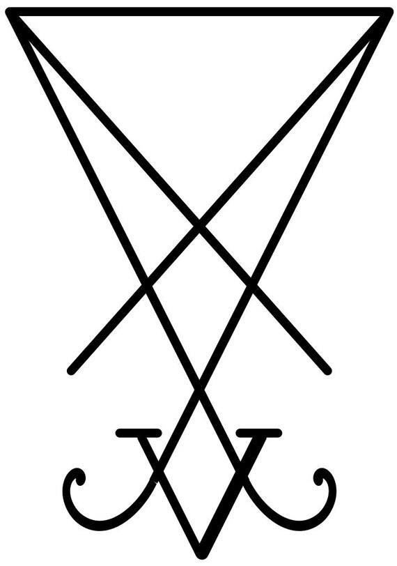 Luciferian Sigil vinyl decal
