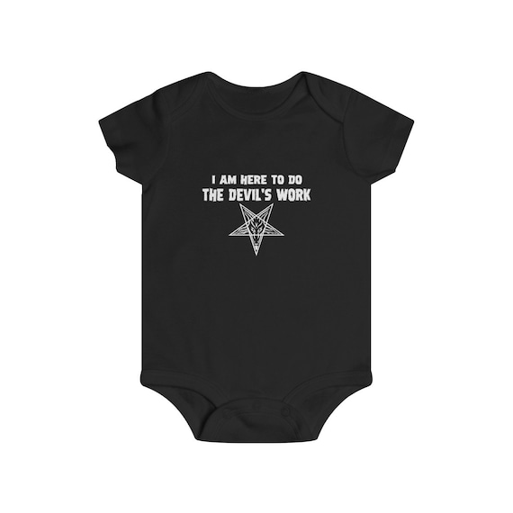 Devil's Work Infant Rip Snap Tee