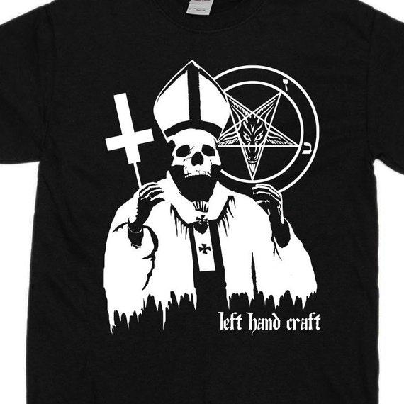 Evil Pope - Pentagram Satanic T Shirt