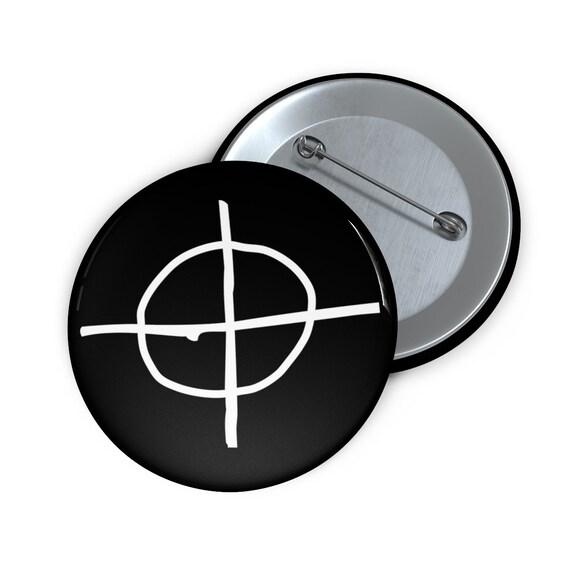 Zodiac Pin Buttons