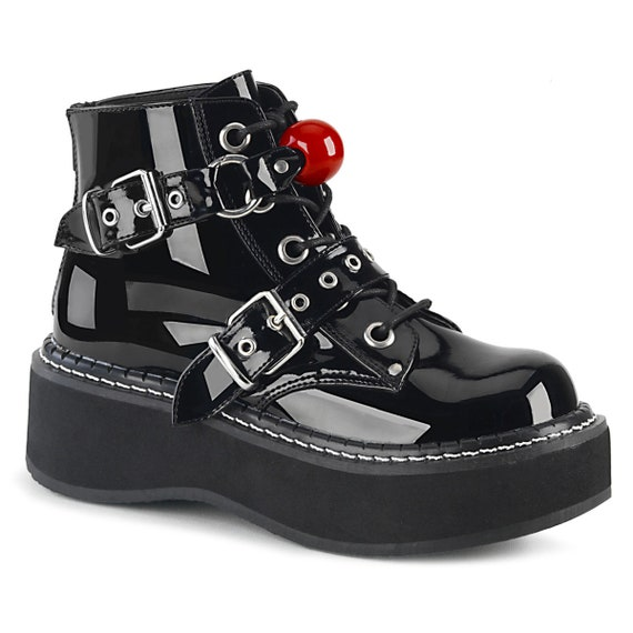 Demonia -  Ball Gag Boots