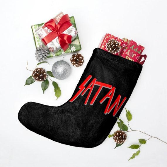 Satan Christmas Stockings