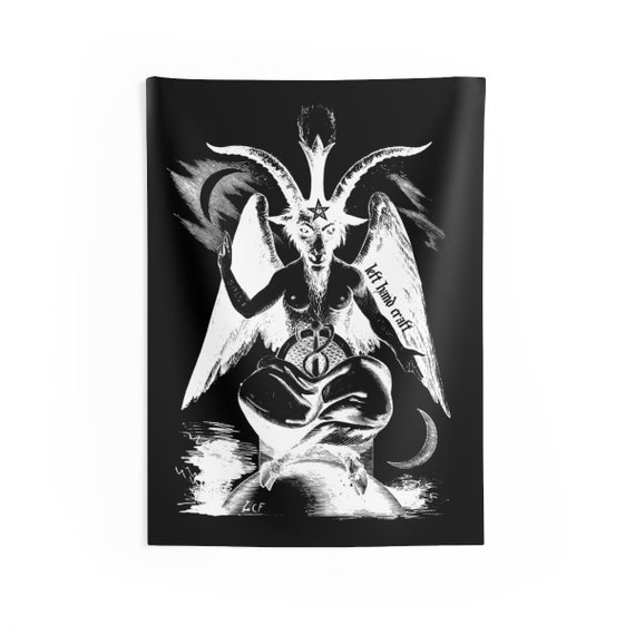 26x36 inch Wall Tapestry Baphomet