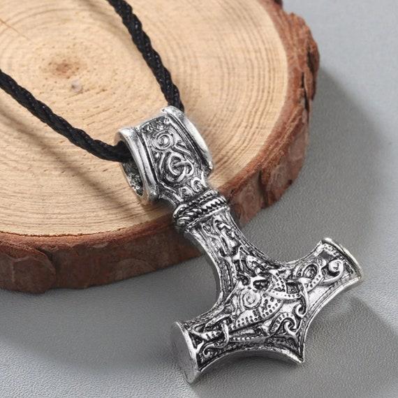 Mjolnir Pendant Necklace - Thor's Hammer