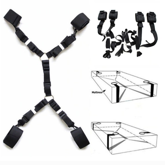 Under the Bed Restraint System - BDSM Bondage Toys