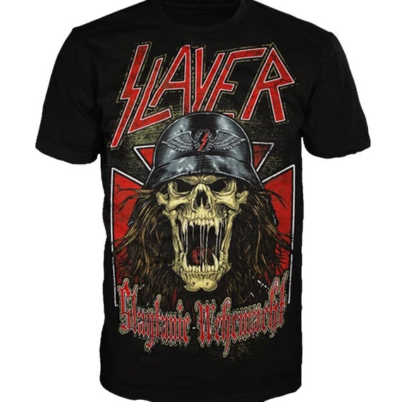 Slayer - Slaytanic Wermacht Officially Licensed Tee - Size Small Only
