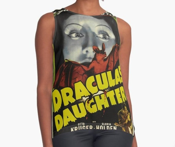 Dracula's Daughter Contrast Tank