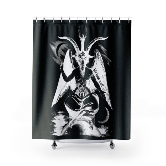 Shower Curtain Baphomet