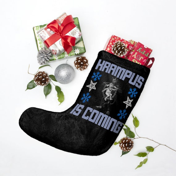 Krampus Christmas Stockings
