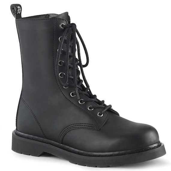 Demonia Men's - Unisex Combat Boots BOLT-200 1 1/4""