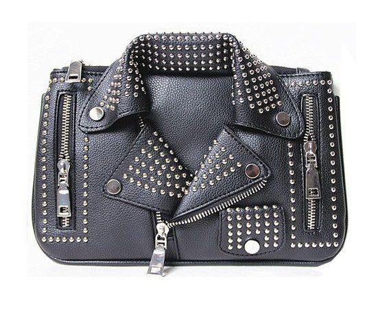 Rocker Clutch Purse - PU Leather
