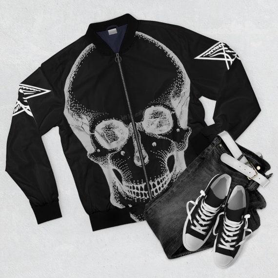 Skull and Baphomets Men's Bomber Jacket