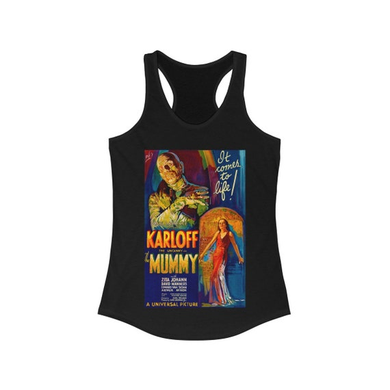 The Mummy Classic Horror Women's Ideal Racerback Tank