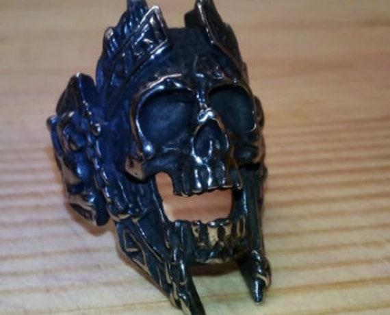 War God Skull Ring