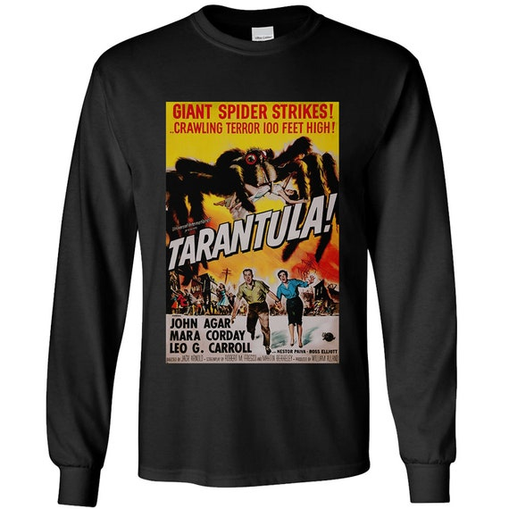 Tarantula - classic horror poster Long Sleeve Shirt