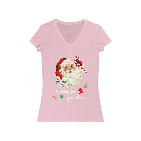 Nothing For You Christmas V-Neck Tee