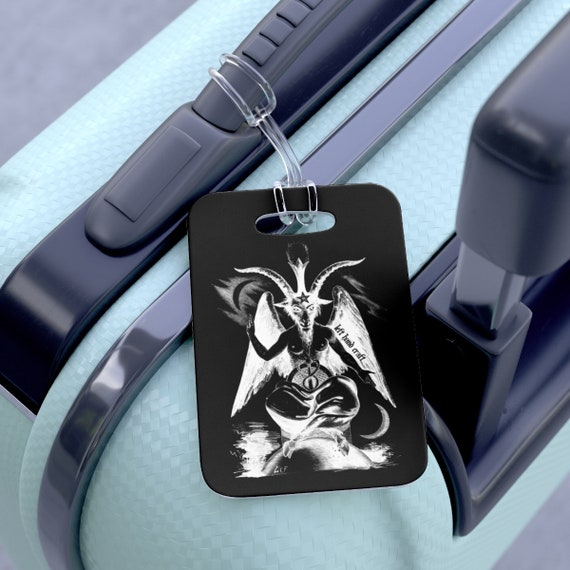 Baphomet Luggage Bag Tag